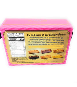 Diamond Bakery Hawaiian Shortbread Macadamia Nut Guava Cookies 4 oz - Alii Snack Company