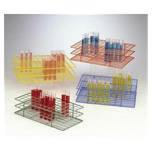 Poxygrid Test Tube Rack 15-16mm 108 Place Green Ea, 24 EA/CA