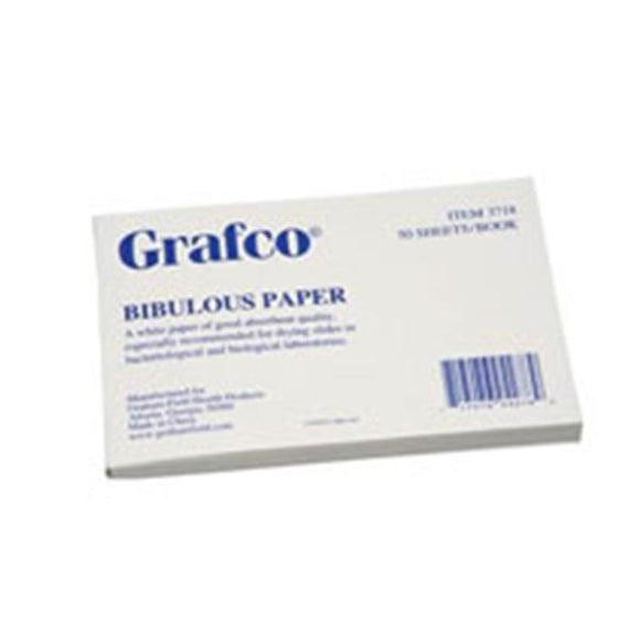 Grafco Bibulous Paper For Drying Slides 50/Book