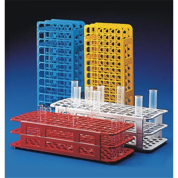 Snap-N-Rack Test Tube Rack 13mm 90 Place Red Ea