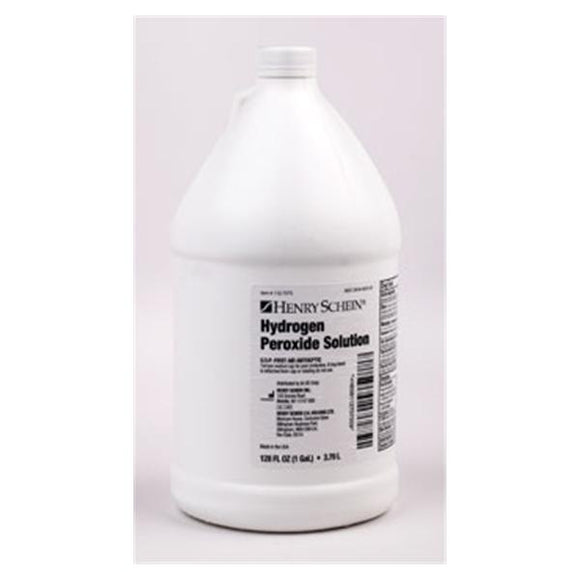 HSI Hydrogen Peroxide 3% Antiseptic Solution 1gal Gal Bt, 4 EA CA