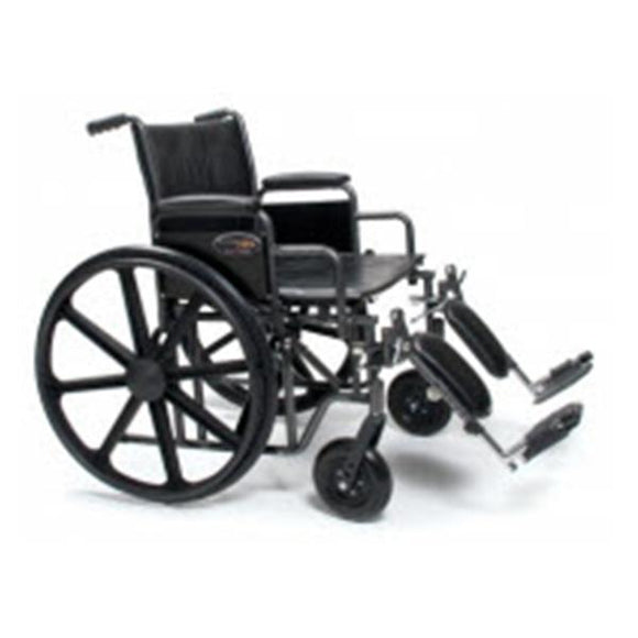 Wheelchair Transport Traveler 500lb Capacity 24