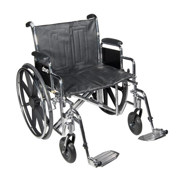 Wheelchair Complete Sentra 500lb Capacity 22