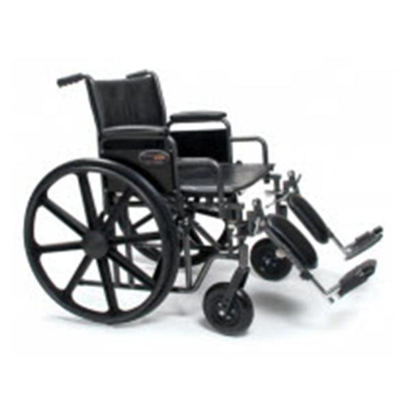 Wheelchair Transport Traveler 400lb Capacity 22
