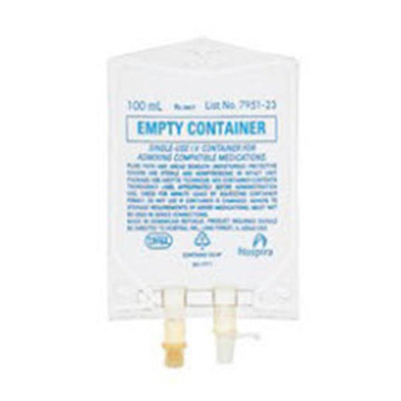 Bag IV Lifecare PVC 100mL Ea, 200 EA/CA