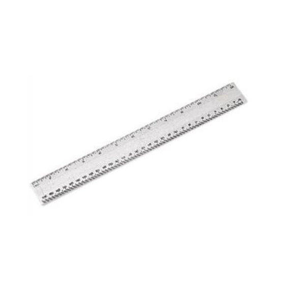 Ruler Plastic Clear 12