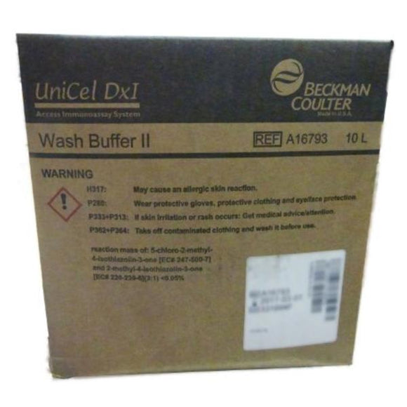 UniCel DXI Wash Buffer II Solution 10L 1/Bx