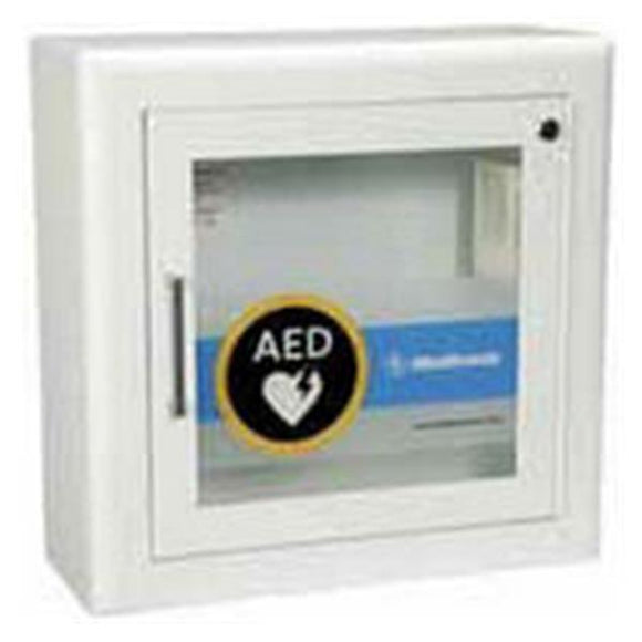 Cabinet Recessed LIFEPAK For Lifepack 500 Steel Ea