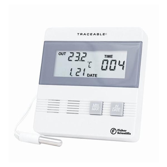 Traceable Date Thermometer ABS Plastic -40 to 80°C Ea
