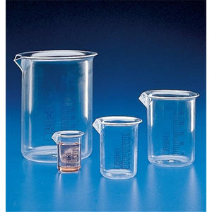 Griffin Beaker PMP No Closure Clear 250mL Ea