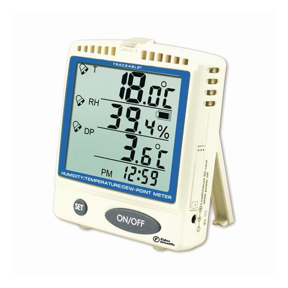 Meter Temperature Traceable 0 to 50°C LCD Digital Ea