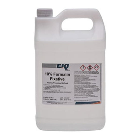 Formalin Fixative Solution Neutral Buffered 10% 1gal Ea, 4 EA/CA