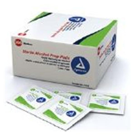 Pad Prep Alcohol Medium 2000/Ca
