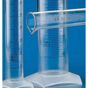 Graduated Cylinder PMP No Closure Clear 10mL Ea