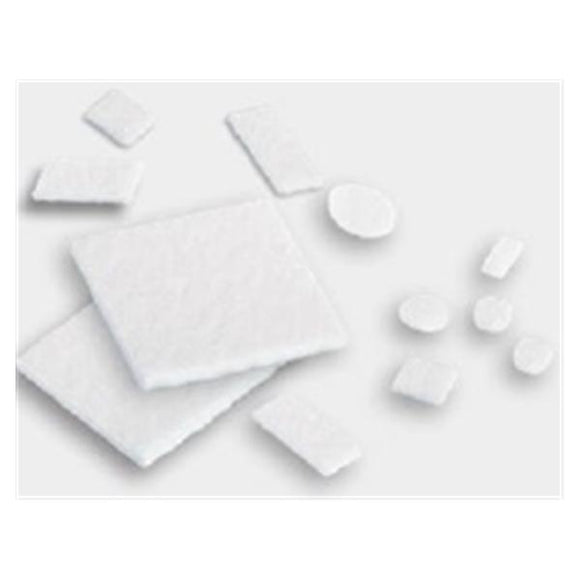 Pledget Polytetrafluoroethylene 4.8x9.5x1.65mm Rectangle 250/Ca