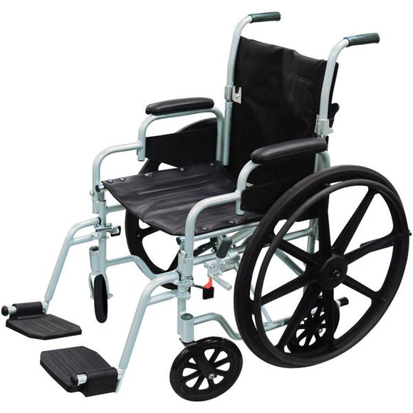 Wheelchair Transport 250lb Capacity 16