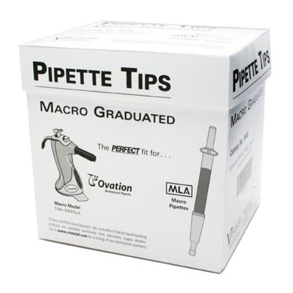 MLA Pipette Tip 1-5mL Graduated NS Disp Dense Pack Tray 100/Bx, 10 BX/CA
