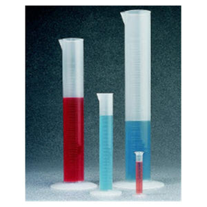 Graduated Cylinder Silicone 100mL Ea
