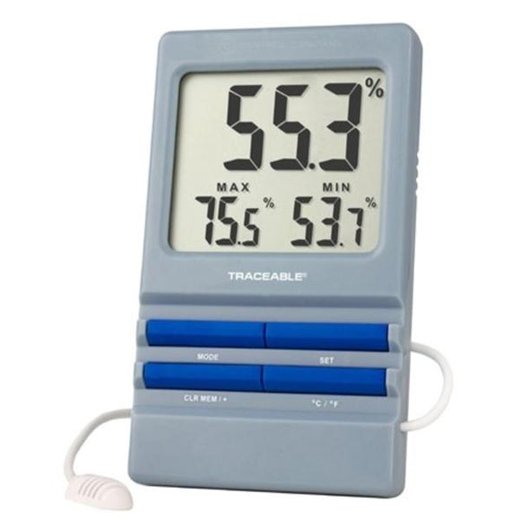 Traceable RH/Temperature Hygrometer ABS 0 to 60C/5 to 95% Ea