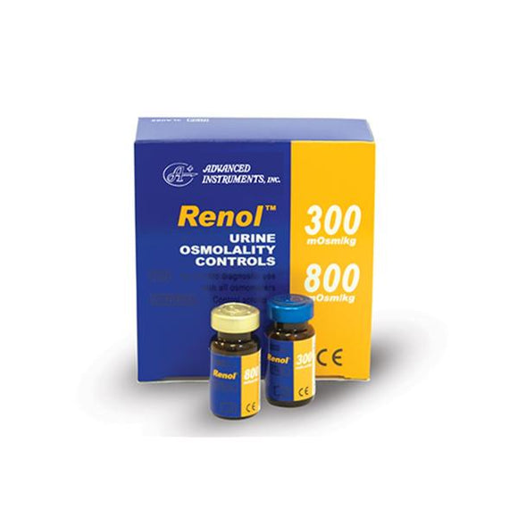 Renol Urine Bi-Level Control 8/Pk