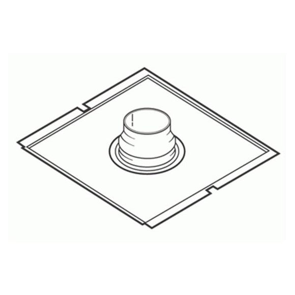 Exhaust Connector For 4ft Canopy Ea