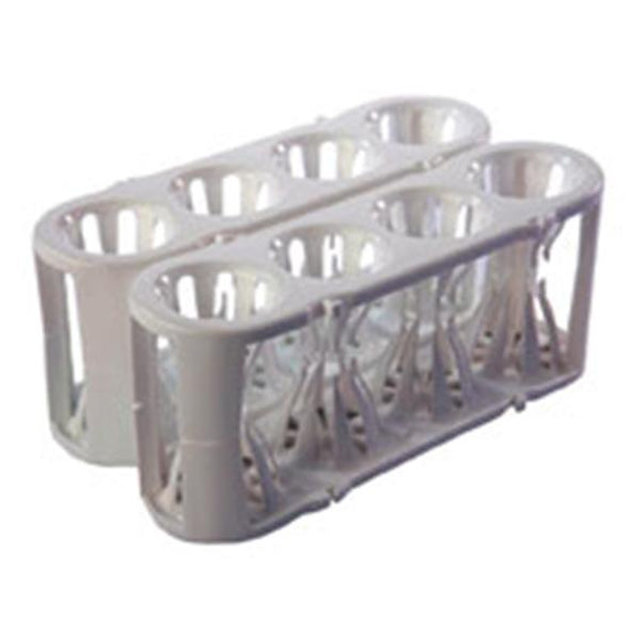 Adapt-a-Rack Multi-Tube Rack Adaptable White 2/Pk