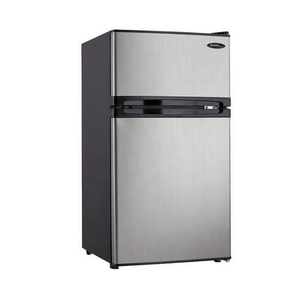 Refrigerator/Freezer Compact 3.1 Cu Ft Dual Door Cycle Defrost Ea