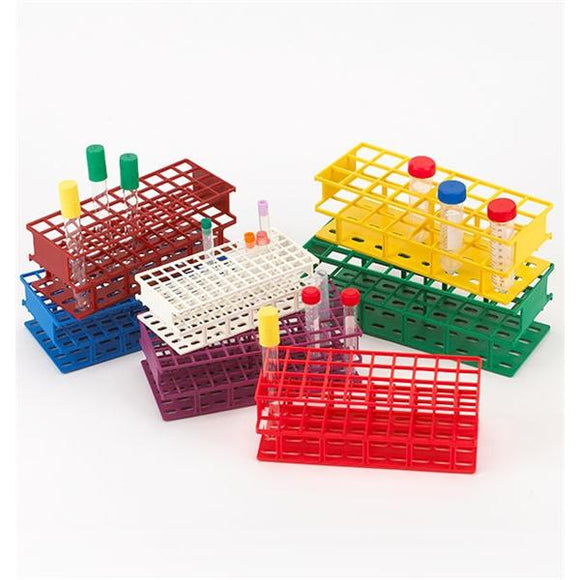 Tube Rack 16mm Tubes 72 Place Red Ea
