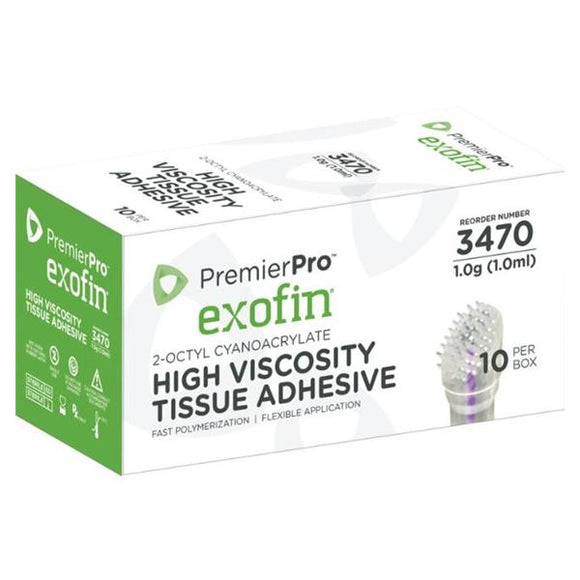 Adhesive Topical Skin EXOFIN 1mL 10/Bx