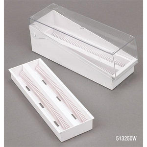 Microscope Slide Storage Box Green 200 Place 6/Ca