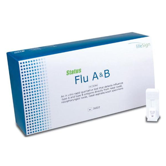 Status Influenza A&B Test Kit 22/Bx
