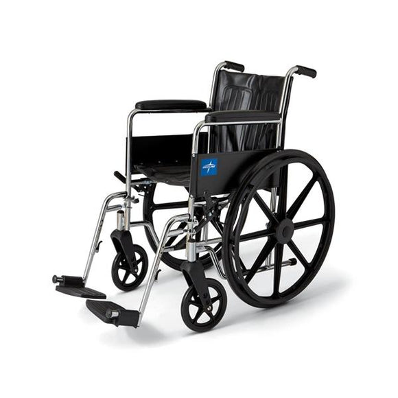 Wheelchair Excel 2000 New 300lb 16x18 Blk Arm Ftrst Lgrt Ea