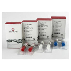Hemotrol Hemoglobin Low Control 1mL Bottle For HB 801 System 2/Bx