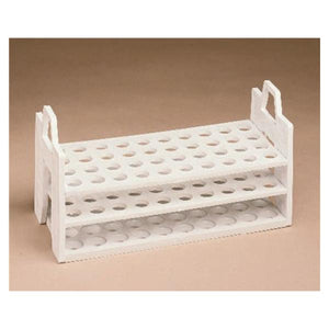 Fisherbrand Test Tube Rack 13-16mm 40 Place White Ea