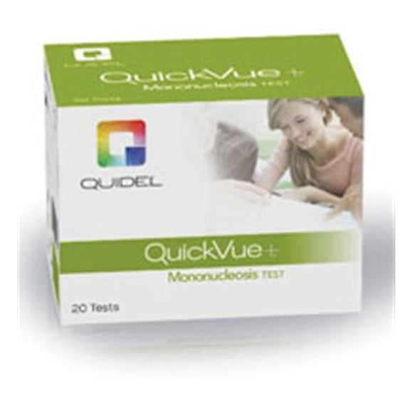 Quickvue+ Mono Test Kit CLIA Waived 20/Kt, 12 KT/CA