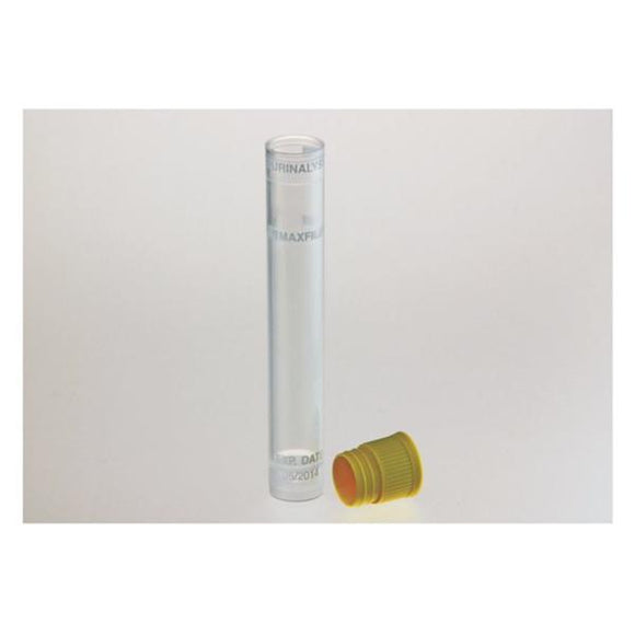 Urinalysis Tube 12mL Polypropylene Non-Sterile 25/Bg, 40 BG/CA