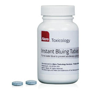 Instant Bluing Tablet For Urine Sample 100/Bt