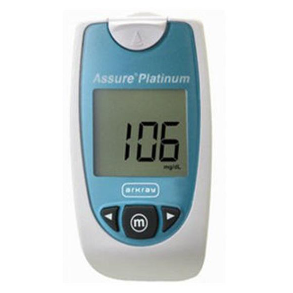 Assure Platinum Blood Glucose Meter f/ Pro Use/ Slf-Tstng Ea
