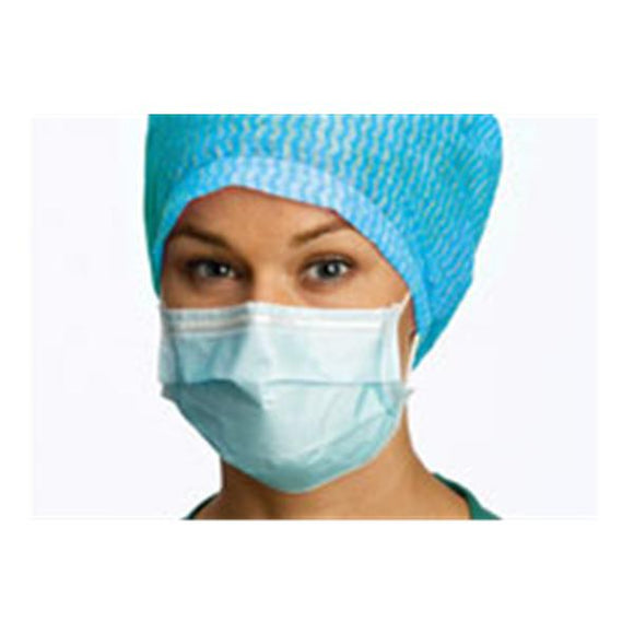 Face Mask Earloop Barrier ASTM Level 1 Blue 50/Bx, 10 BX/CA