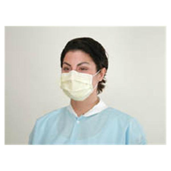 Face Mask Earloop AlphaAir Anti-Fog ASTM Level 3 Blue 50/Bx, 10 BX/CA