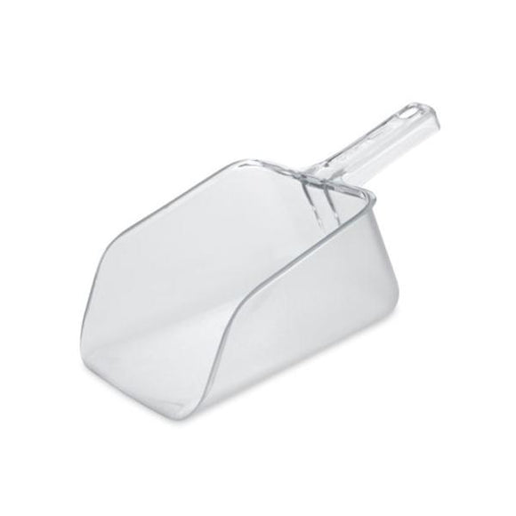 Bouncer Utility Ice Scoop Plastic Clear 64oz Ea, 6 EA/CA