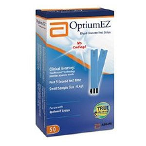 Optium EZ Glucose Test Strip 100/Bx, 6 BX/CA