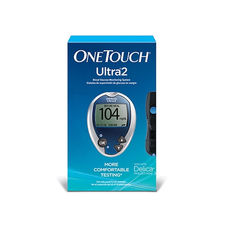 OneTouch Ultra® 2 Blood Glucose Meter Test Kit