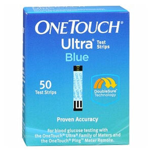 OneTouch Ultra Blood Glucose Test Strip 50 Count 50/Bx, 24 BX/CA