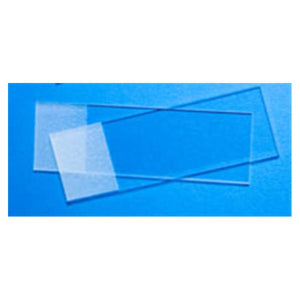 "Chemical Resistant Microscope Slide 3x1""x1mm Sand 72/Bx, 20 BX/CA"