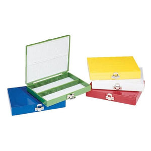 Microscope Slide Box White Ea