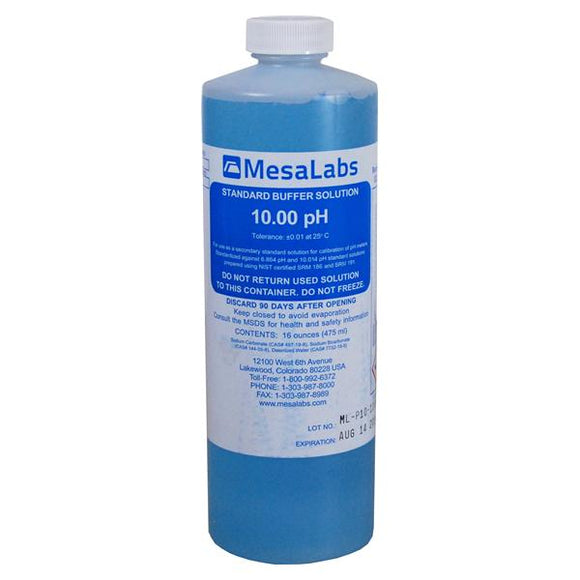 Buffer Solution pH 10.0 16oz Ea, 12 EA/CA
