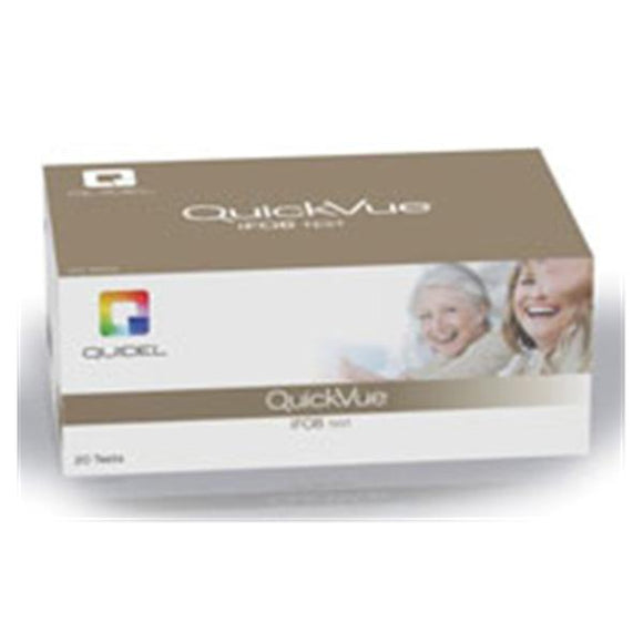 QuickVue iFOB: FOB Test Kit CLIA Wvd 20ct 20/Bx, 6 BX/CA