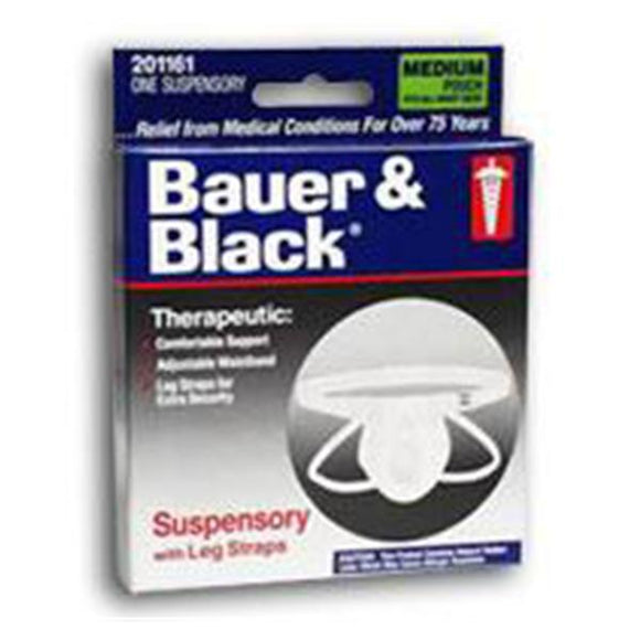 Suspensory Bauer & Black _ Cotton Medium Ea, 48 EA/CA