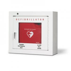 Philips Defibrillator Cabinet Basic Wall Mount Heavy Gauge Steel